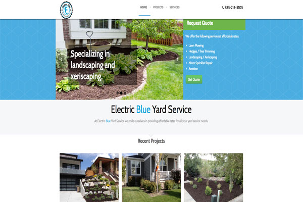 Electric Blue Yard Service